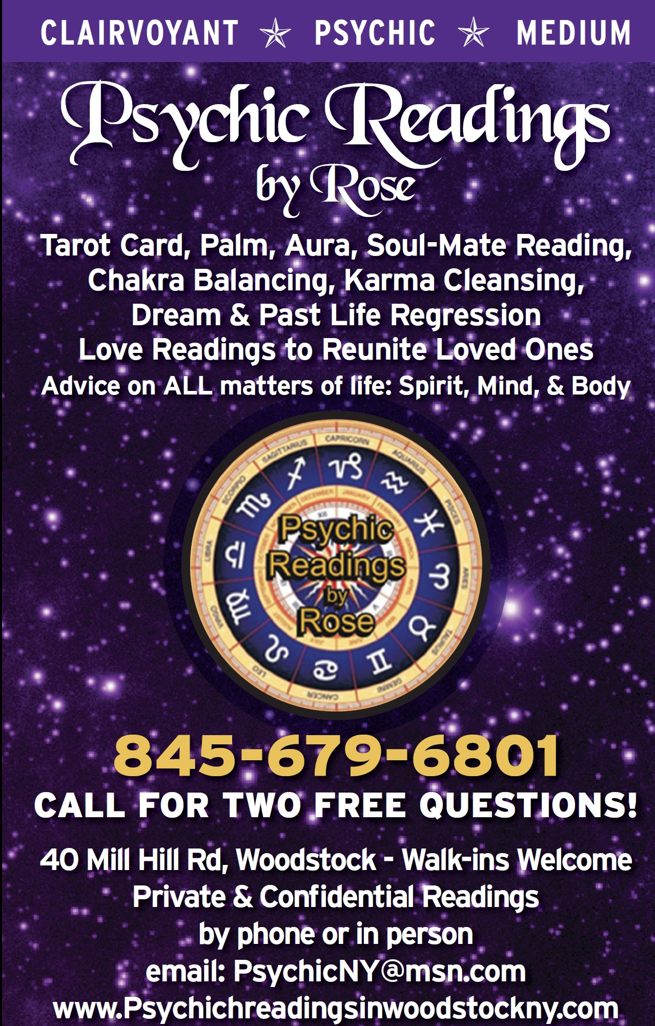 Psychic Tarot Cards Meanings: Hudson Valley, Ulster County, Manhattan, New York Psychic